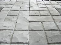 Тротуарная плитка белая. Купить можно в Гродно на сайте elitbeton2000.by